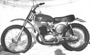 Sprite competition motorcycle