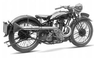 Stevens first motorcycle model was a 249cc ohv
