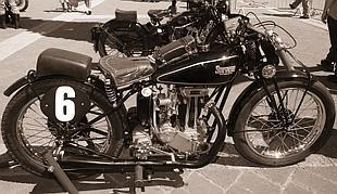 Stevens classic British motorcycle