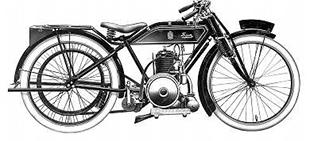 Sun 250cc two stroke classic motorcycle, powered by Villiers engine
