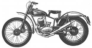 Sun Competition classic motorcycle