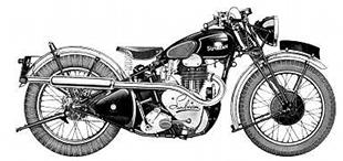 Sunbeam 'high camshaft' classic motorcycle