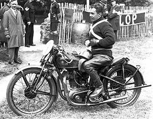 Charlie Dodson, Sunbeam motorcycling winner of 1929 senior TT