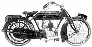 1913 two speed Sunbeam classic motorcycle