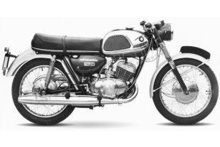 Suzuki T20 Super Six 250cc classic motorcycle