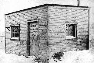 http://mortonsdevHarley-Davidson's manufacturing shed where they started