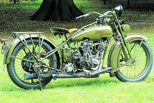 Harley-Davidson's manufacturing history