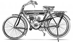 1910 Terrot classic motorcycle with variable engine pulley