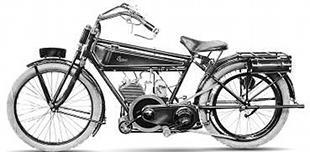 1921 Terror classic motorcycle
