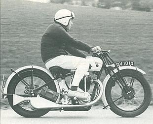 Calthorpe classic motorcycle test