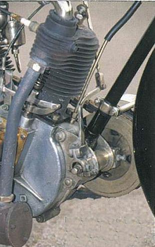 Bat motorcycle engine