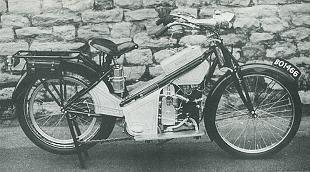 Douglas Ladies classic motorcycle