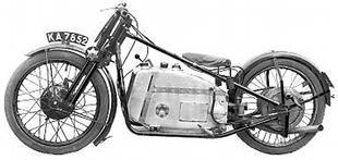 Tinkler OEC-framed classic motorcycle