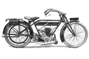 British Torpedo classic motorcycle with Precision engine