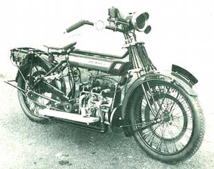 Royal Enfield classic British motorcycle prototype