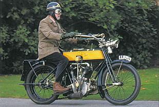 Bat classic motorcycle test