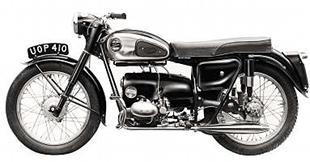 192cc Velocette Valiant classic motorcycle