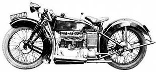 Vauxhall classic motorcycle
