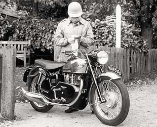 Veolcette Venom classic motorcycle