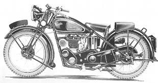 Velocette MOV 250
