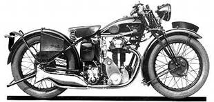 1931 Velocette Twin Port KTP classic motorcycle