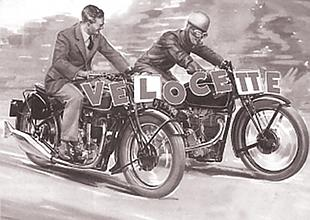 Velocette ohc classic motorcycle