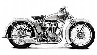 1929 Victoria 350cc classic motorcycle