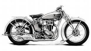 1929 Victoria 350cc classic motorcycle
