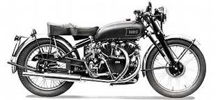 Vincent series C Black Shadow classic motorcycle