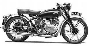 Series C Vincent Comet classic motorcycle