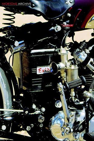 Vincent Rapide classic motorcycle restoration
