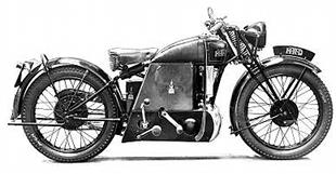 Model W 249cc Vincent, powered by water-cooled Villiers two stroke engine