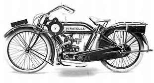 1922 watercooled 3hp Viratelle classic motorcycle