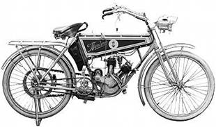 Well engineered Wandered classic motorcycle