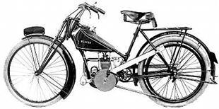 Weaver Ladies model classic motorcycle