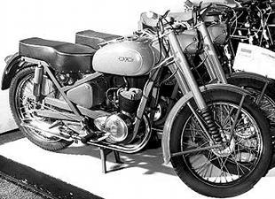 WFM classic motorcycle