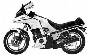 Yamaha turbo classic motorcycle