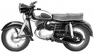 1958 Zundapp 197cc 201S