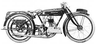 Zenith 350cc sports classic motorcycle with JAP sidevalve engine
