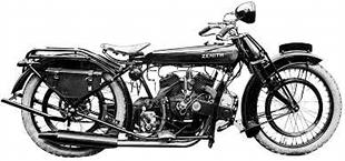 Zenith classic motorcycle with full touring kit and Barr and Stroud sleeve valve v-twin engine