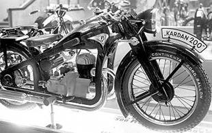 Zundapp Kardan 200 classic motorcycle