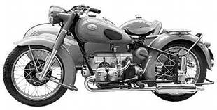 1951 Zundapp KS601 ohv classic motorcycle