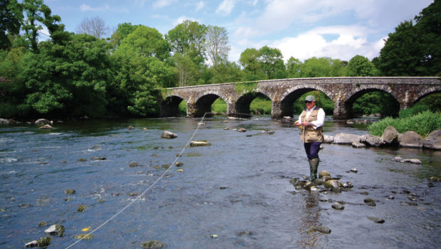 Fishing in River Bann