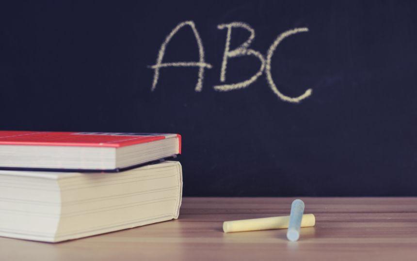 Abc Alphabet Blackboard 265076