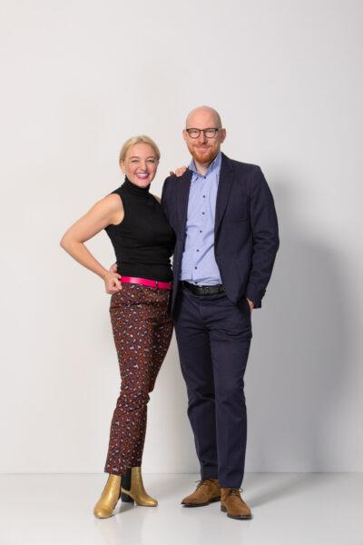 Die La Loupe Herausgeber Benjamin & Julia Skardarasy