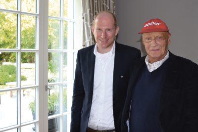 Benjamin Skardarasy & Niki Lauda
