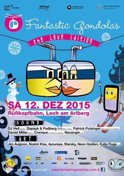 Fantastic Gondolas Poster