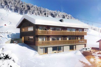 Hotel Stäfeli Rendering