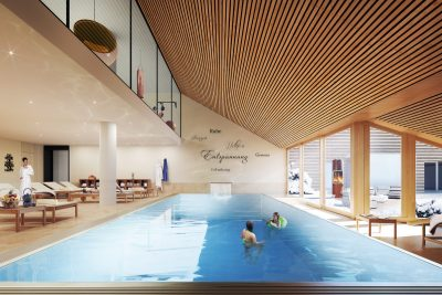 Schwimmbad Rendering