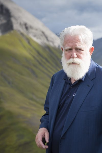 James Turrell in Lech (Sept. 2014) © Maria Muxel